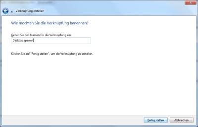 Windows 7 Zugriff auf Desktop verhindern