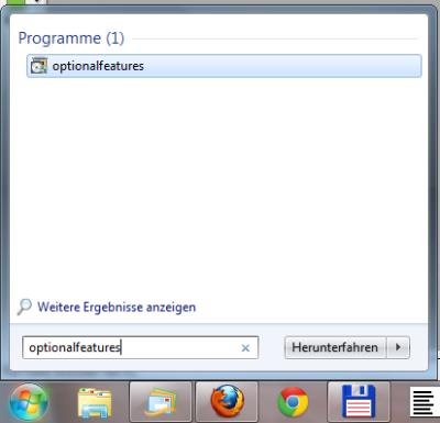 Windows 7 unnötige Funktionen abschalten