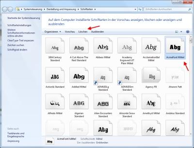 Windows Schriftarten Installieren 7