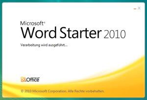 Microsoft Office Starter 2010