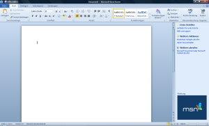 Microsoft Word Starter 2010