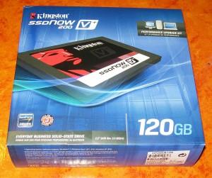 Kingston SSDNow V+200 120 GB Verpackung