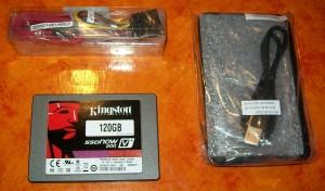 Kingston SSDNow V+200 120 GB Lieferumfang