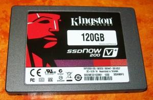 Kingston SSDNow V+200 120 GB SSD-Festplatte