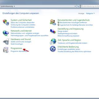 Windows 7 Media Center deaktivieren