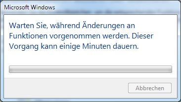 Programme und Funktionen unter Windows 7 reparieren