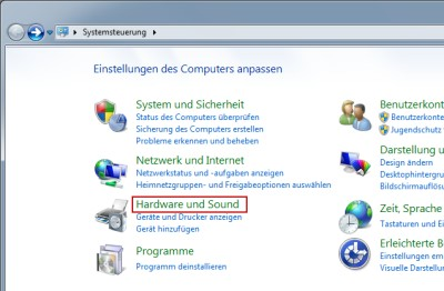 Windows 7 Systemsteuerung Ruhezustand einstellen