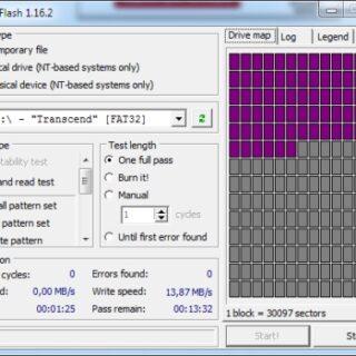 Check Flash - USB-Stick auf Fehler und Geschwindigkeit testen