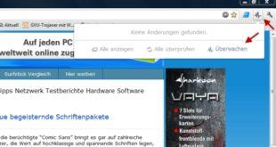 Google Chrome Page Monitor Webseite überwachen