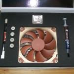 NH-L9i CPU-Kühler Verpackung geöffnet und Lieferumfang