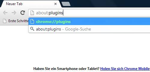 Chrome Einstellungen automatisches Update