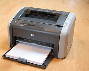 typischer Laserdrucker