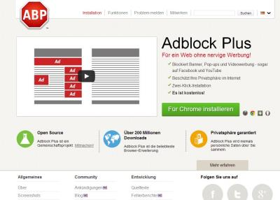 Adblock Plus Browser Plugin