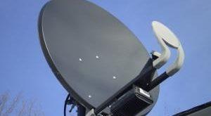 Sat-Receiver Satellitenschüssel