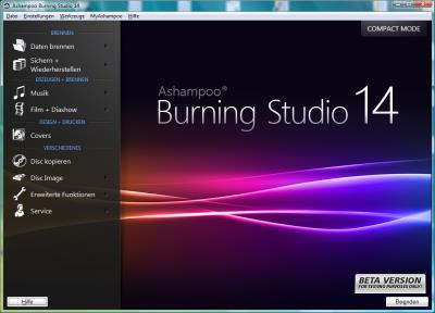 ashampoo burning studio 14 1 Software Vorstellung: Ashampoo Burning Studio 14