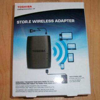 Toshiba Stor.E Wireless Adapter: USB-Laufwerke per WLAN verbinden