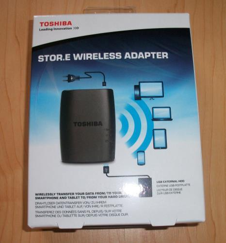 Toshiba Store.E Wireless Adapter Verpackung