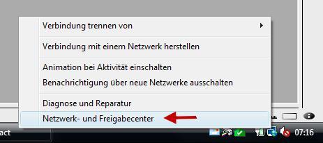 Netzwerkadapter deaktivieren oder aktivieren