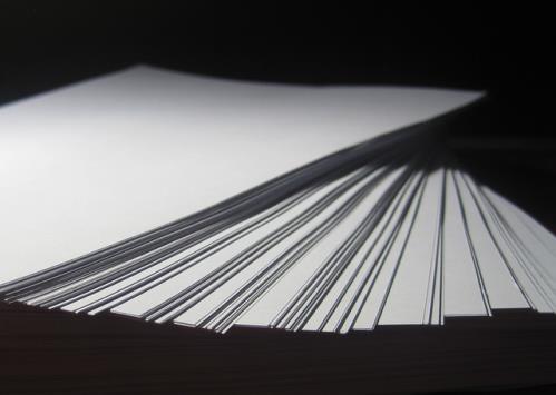 Druckerpapier Stapel