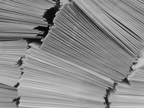 Papierstapel Druckerpapier