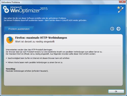 Anzahl der maximalen HTTP-Verbindungen im Firefox erhöhen