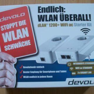 devolo dLAN 1200+ WiFi ac Starter Kit: WLAN wirklich überall?