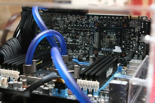 Detailansicht Mainboard