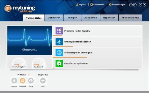 mytuning utilities PC überprüfen