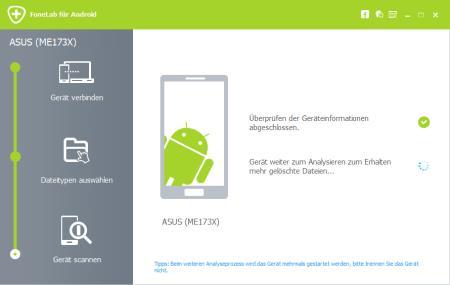 FoneLab für Android: Gelöschte Daten unter Android wiederherstellen