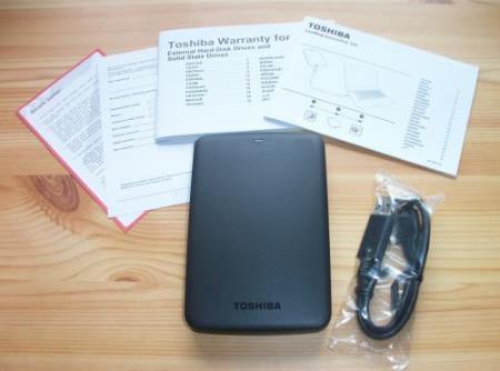 Toshiba Canvio Basics Lieferumfang