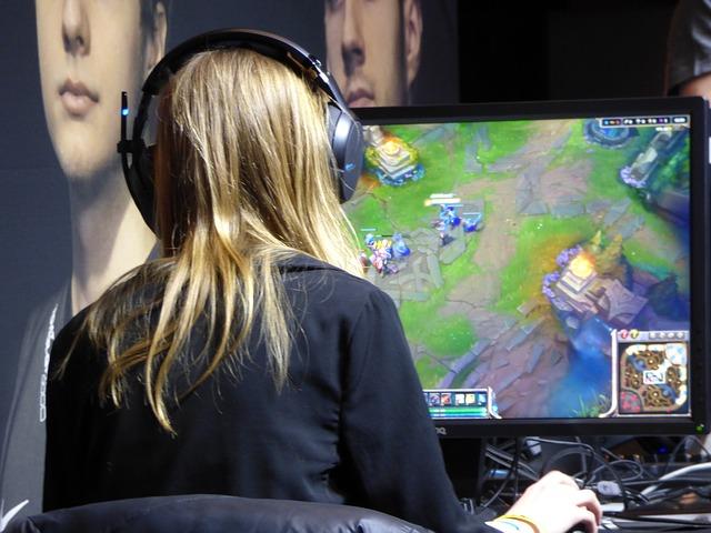 Spieler E-Sports im LAN