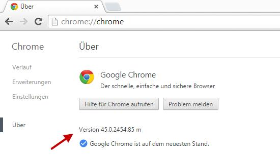 Browser: Google Chrome 45.0.2454.85 zum Download