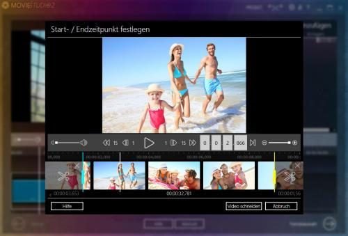 Videos schneiden mit Ashampoo Movie Studio Pro 2