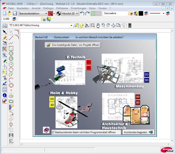 Markt+Technik präsentiert BeckerCAD 10