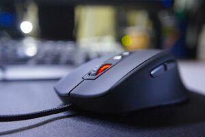 Gaming Maus im Einsatz am PC