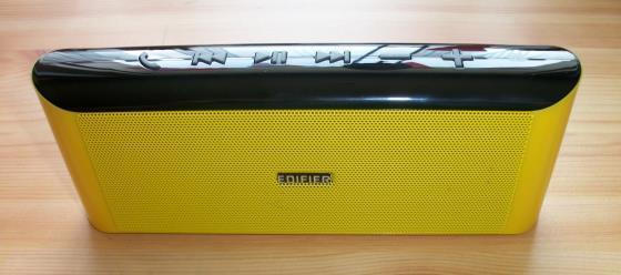 Edifier MP233 Lautsprecher Vorderseite mit Schriftzug