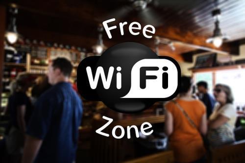 Freies WLAN im Restaurant