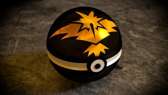 Pokeball aus Pokemon Go