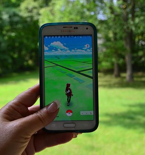 Pokémon GO live im Einsatz