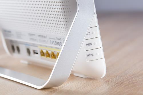 Wlan-Router seitliche Ansicht