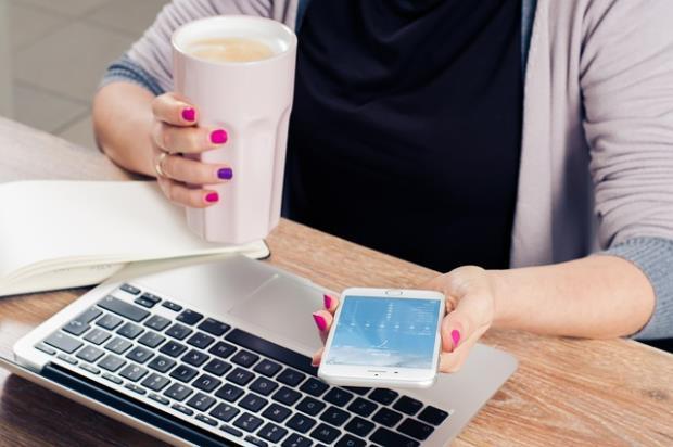 Smartphone im Geschäftseinsatz