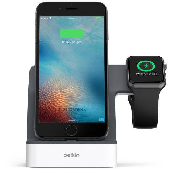 Powerhouse Ladestation für Apple Watch und iPhone