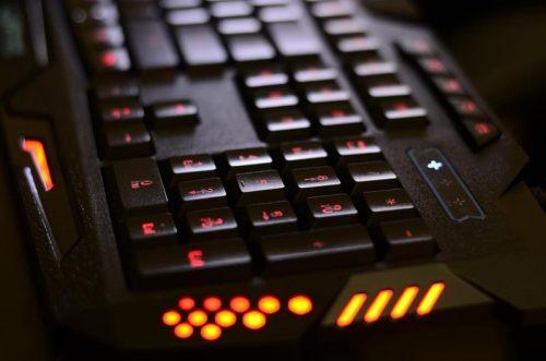 spezielle Gaming-Tastatur