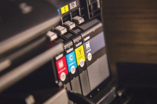 einzelne Druckerpatronen für Standardfarben