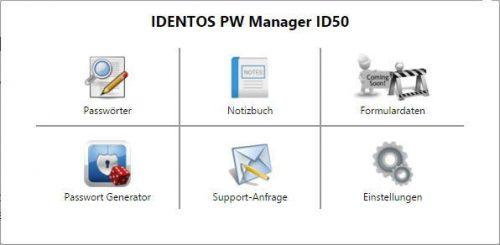 IDENTsmart ID50 Passwort Manager