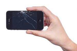 defektes Display am iPhone von Apple