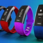 Fitness Tracker in verschiedenen Farben