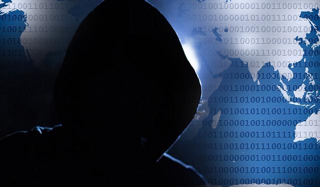 Hackerangriff auf Webseite
