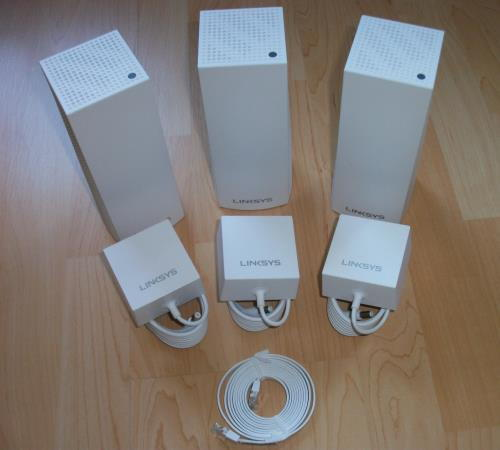 Linksys Velop System Lieferumfang