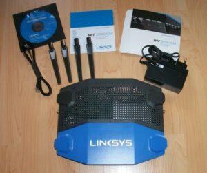 Lieferumfang Linksys WRT3200ACM